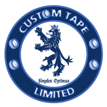 custom tape limited logo
