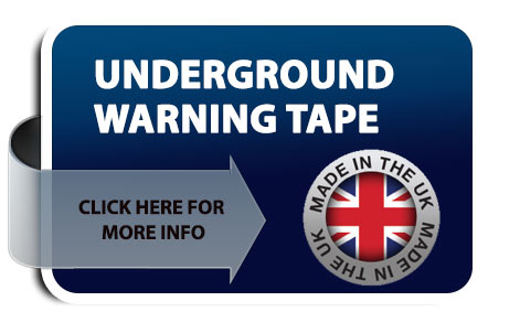 underground warning tape button