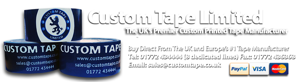 Custom Printed Tape From The Experts